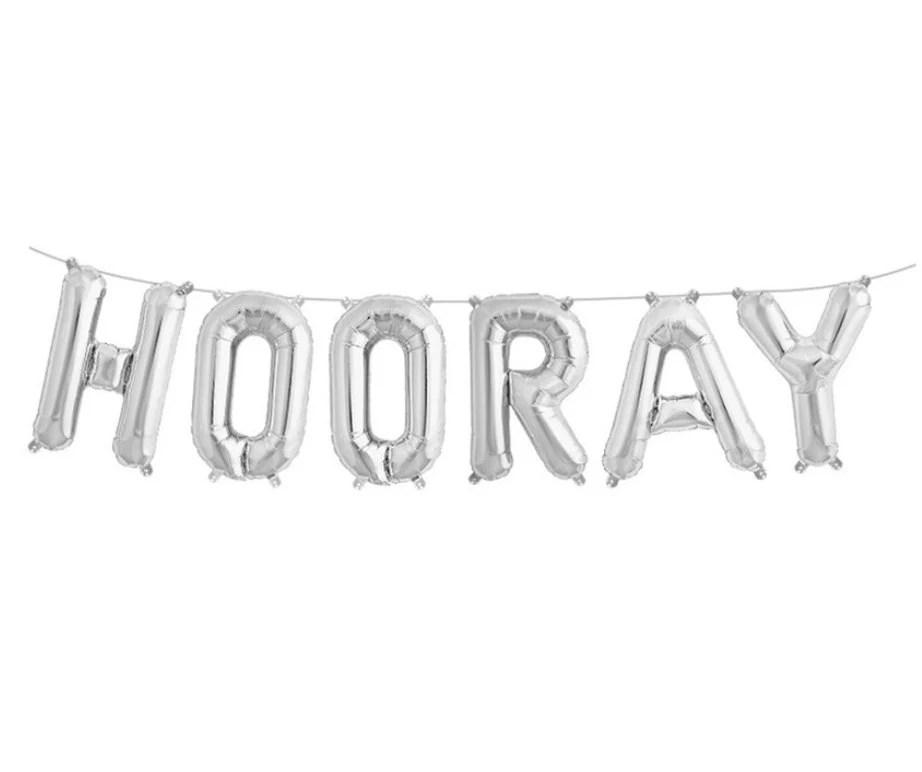Hooray Balloon Kit Congratulations Graduation Party