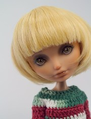 short wig doll monster high