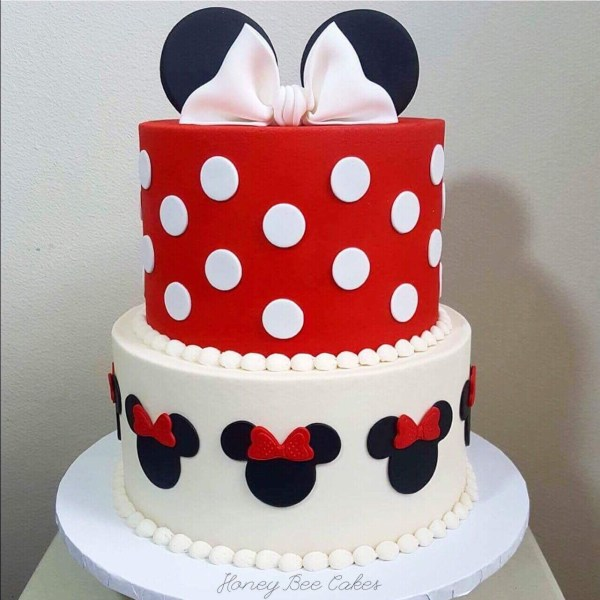 Minnie Mouse Cake Decorations Set