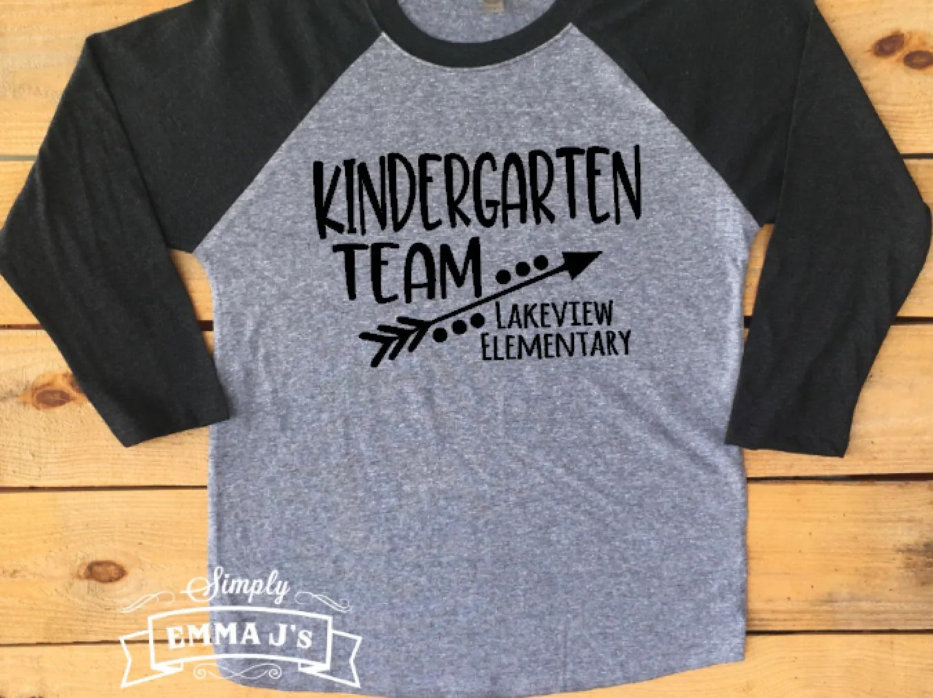 Kindergarten Team Teacher Team Shirt Second Grade Team
