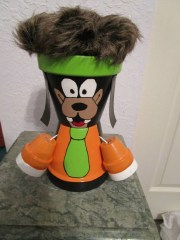 9 clay pot goofy with hair