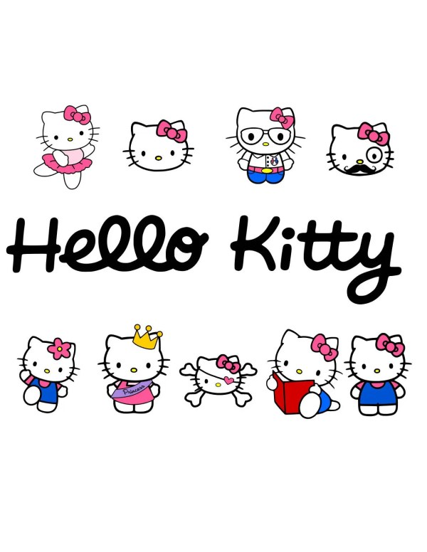 Kitty Svg Girl