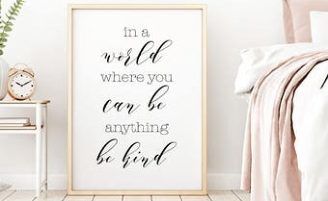Wall Art Quotes Etsy