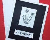 Happy Birthday card, blan...