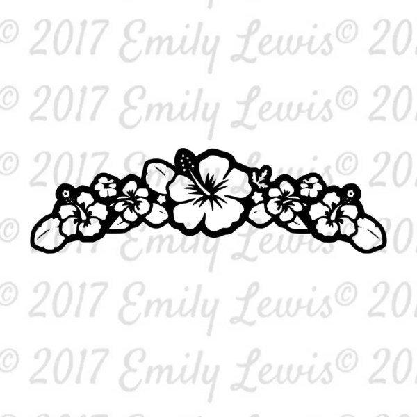 svg cutting files small flower