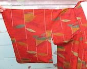 Vintage autumn kimono, cl...