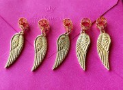 wing hair clips barrettes angel