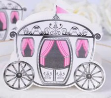 Enchanted Carriage Wedding Favor Boxes | Fairytale Wedding