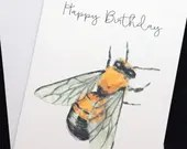 Bumblebee birthday card, ...