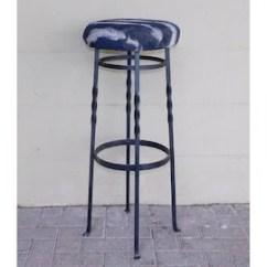 Revolving Chair Bar Stool Adams Adirondack White Vintage | Etsy