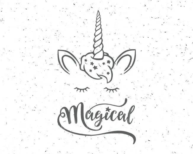Unicorn svg Magical Unicorn svg Magical Unicorn svg file