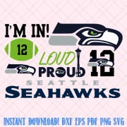 seattle seahawks svg