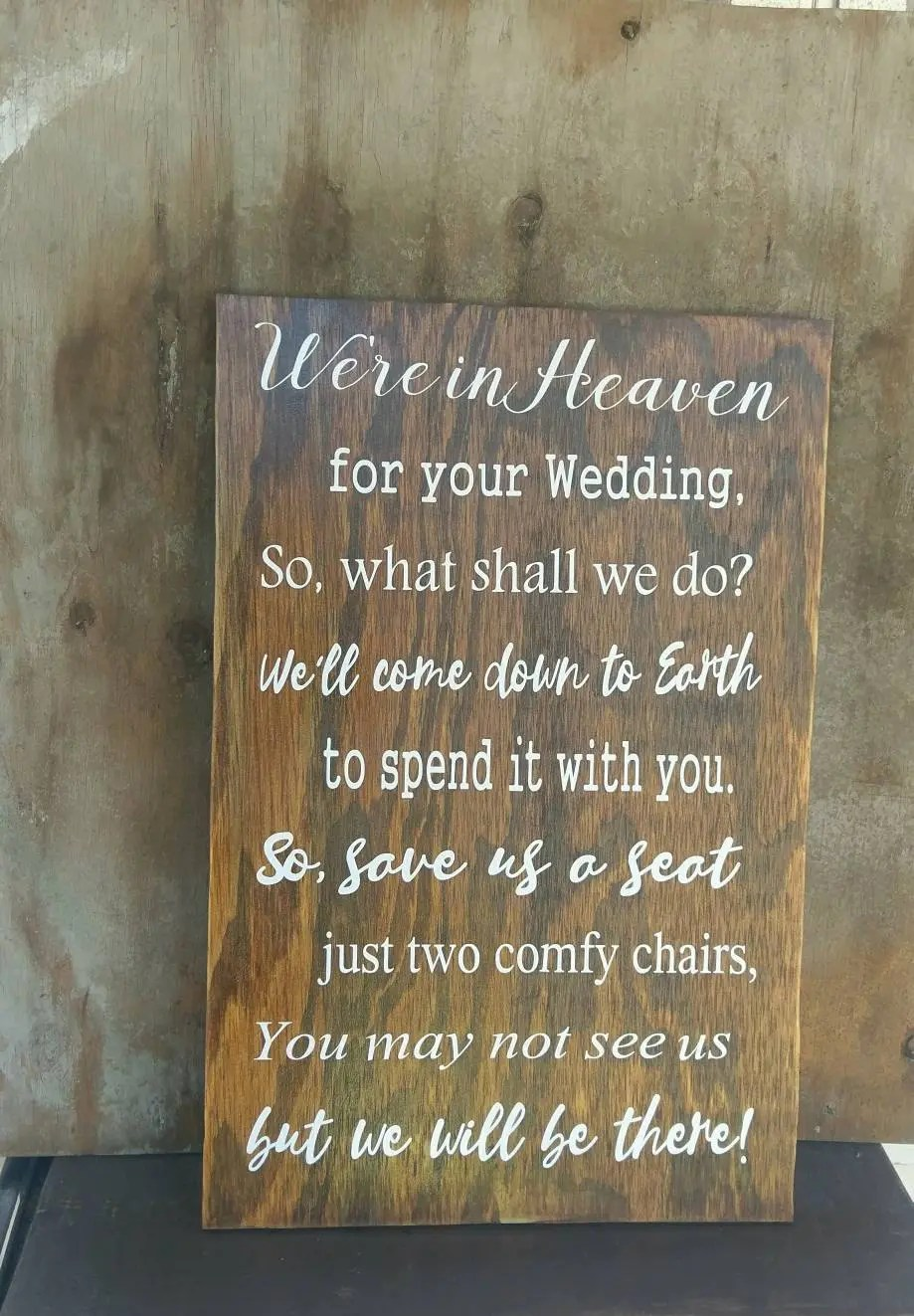 Wedding chair decor  Etsy