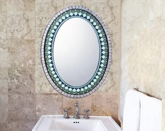 custom mosaic mirrors house number signs by greenstreetmosaics