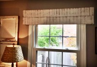 Handmade Window Valance//Custom Window Treatment//Wooden