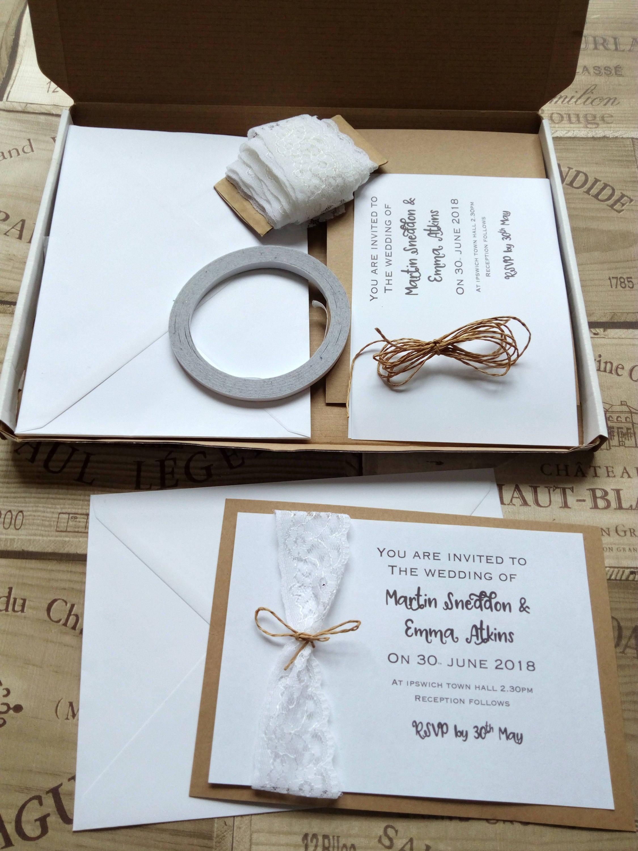 Wedding Invitation Kit Make Your Own Wedding Invitations
