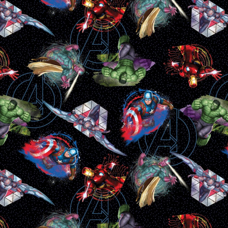 avengers bean bag chair ergonomic portland oregon marvel badges fabric galaxy priced by the half