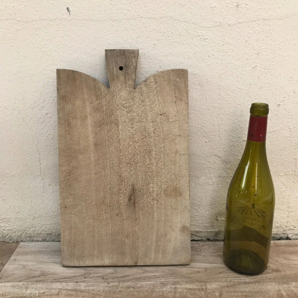 ANTIQUE VINTAGE FRENCH bread or chopping cutting board wood