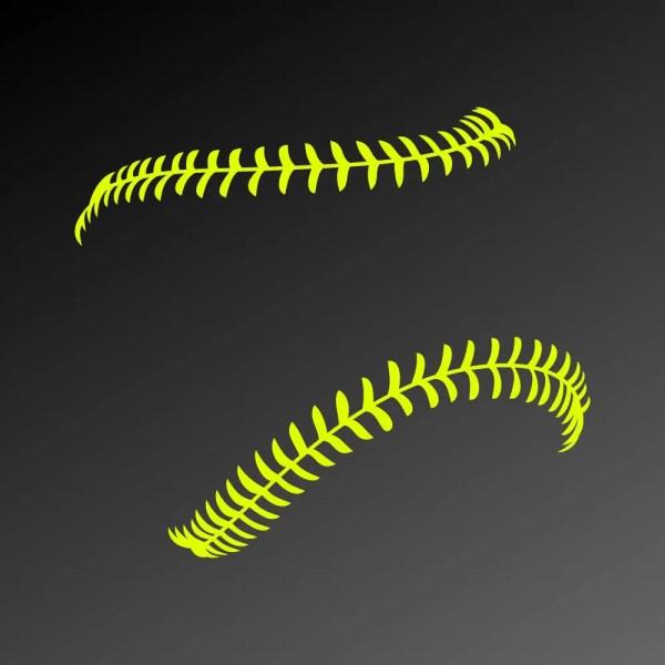 Softball Stitches Svg Files Laces