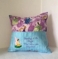 Fairy Princess Storytime Pillow LAST ONE Book Pillows
