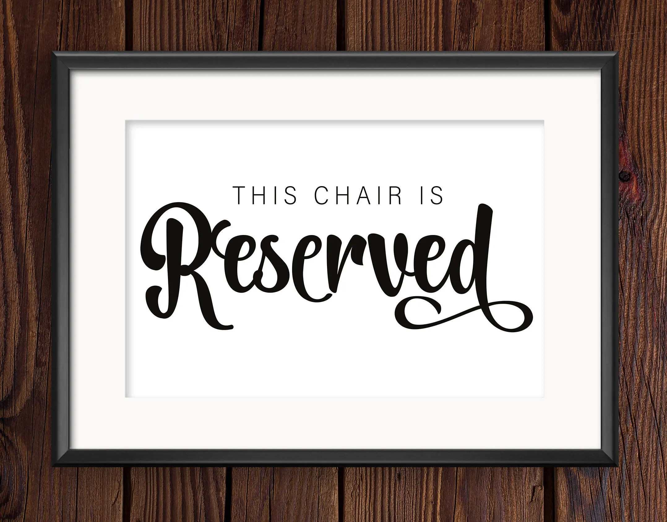 reserved signs for chairs template white hanging egg chair australia sign seating mother of the bride wedding