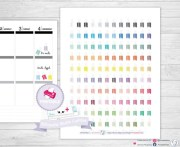 essie nail polish planner stickers