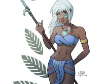 Kida Atlantis Fan Art Print