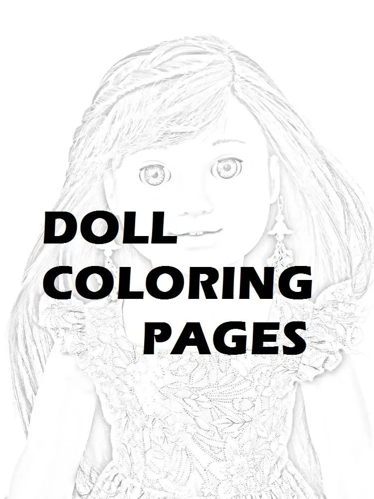 Twenty Coloring Pages PRINTED PACKET Tenney Grant American
