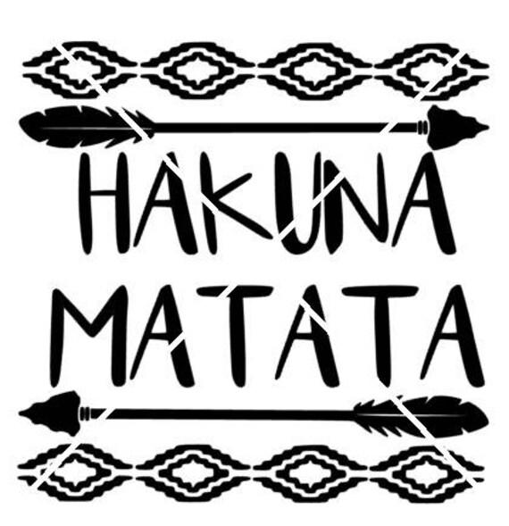 Hakuna Matata Svg File