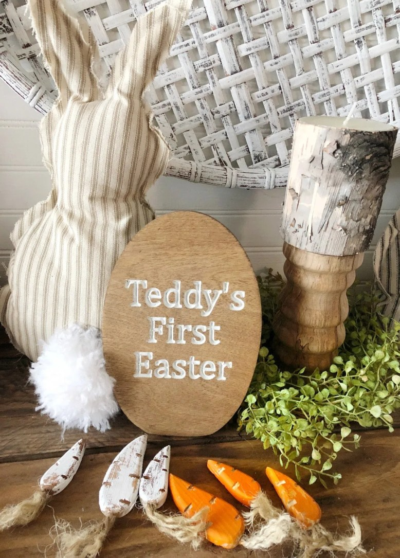 Baby First Easter Engrave...