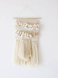 Woven wall hanging Woven wall art tapestry Wall tapestry