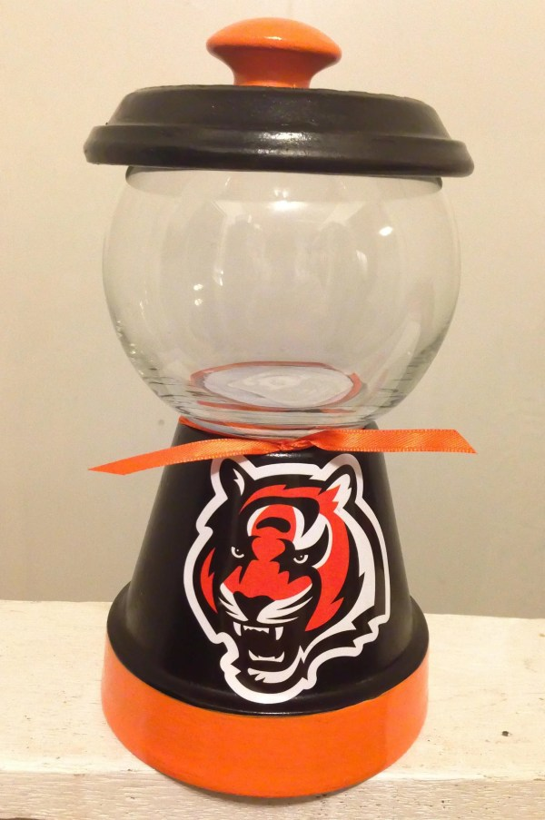 5efec516 Raiders Candy Jar Crafts Clay Pot Crafts Clay - Year of Clean Water