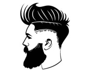 haircut barber fashion style handsome