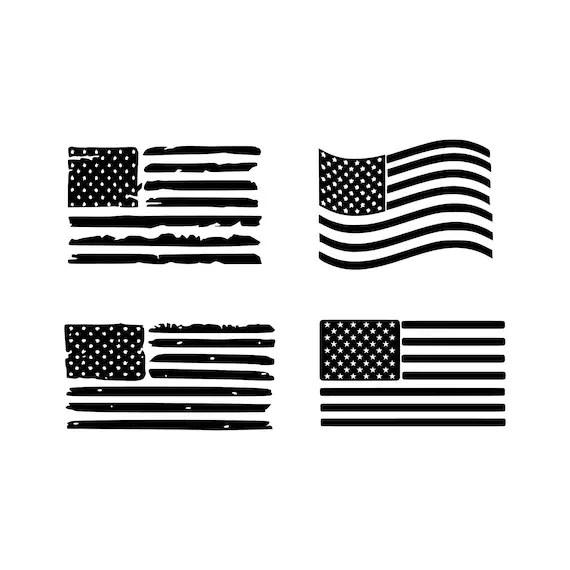 Download American flag svg Rainbow flag svg Distressed American Flag