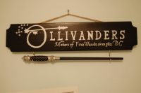 Harry Potter Ollivanders inspired Wizard Wand Holder