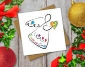 Christmas Angel Card: Chr...
