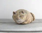 Art Pottery Cat, small pe...