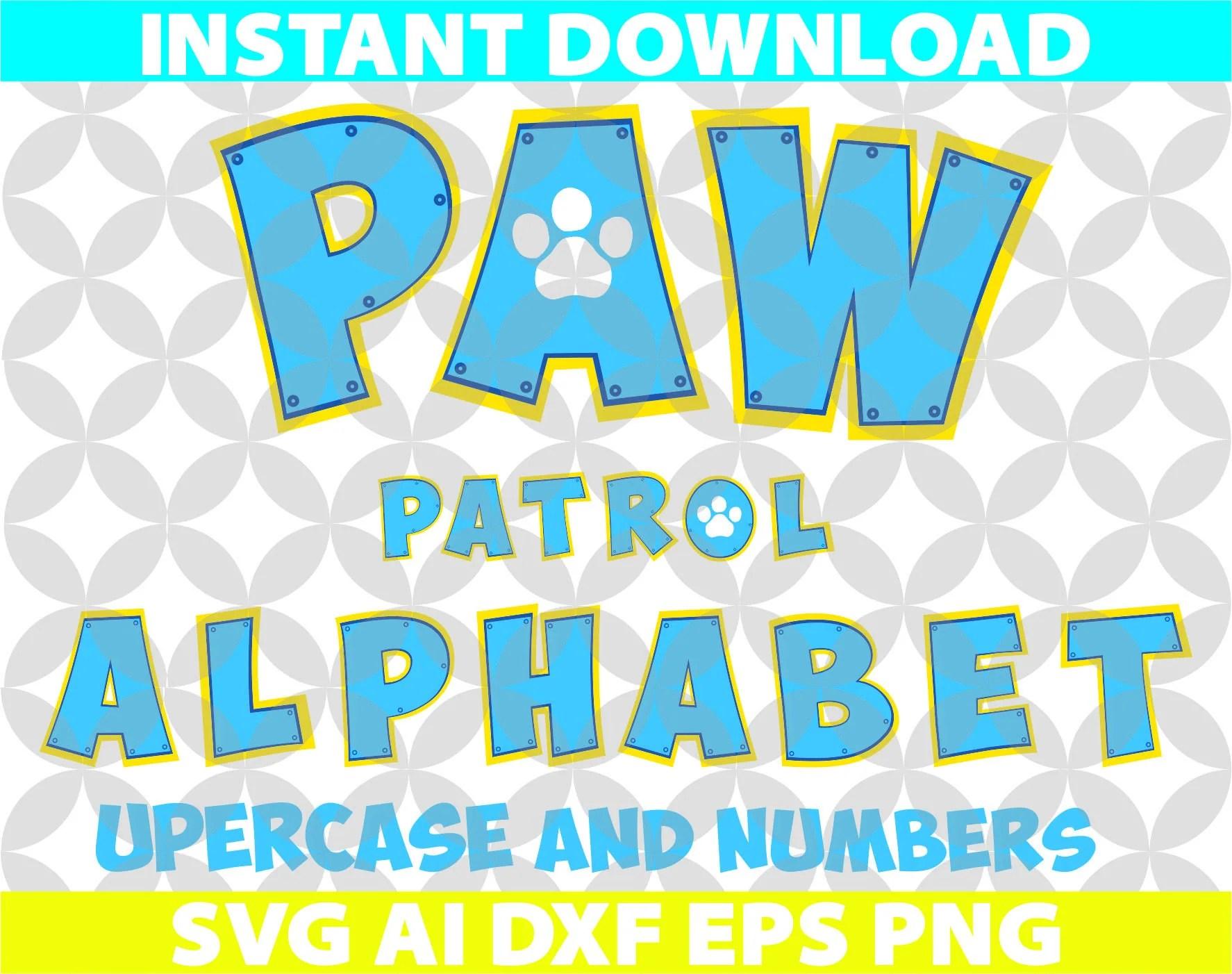 paw patrol birthday invitation template