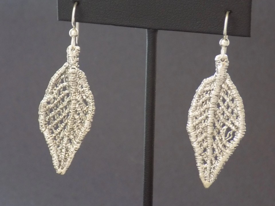 Cast Lace Sterling Silver...