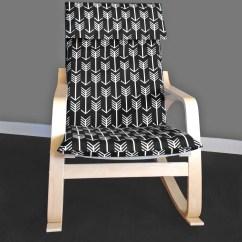 Etsy Director Chair Covers Tolix Cushion Custom Ikea PoÄng Arrow Seat Cover