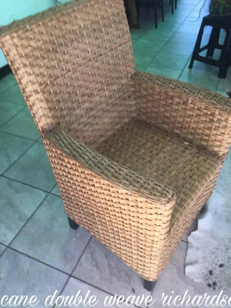 mid century modern cane barrel chairs metal outdoor australia chair | etsy