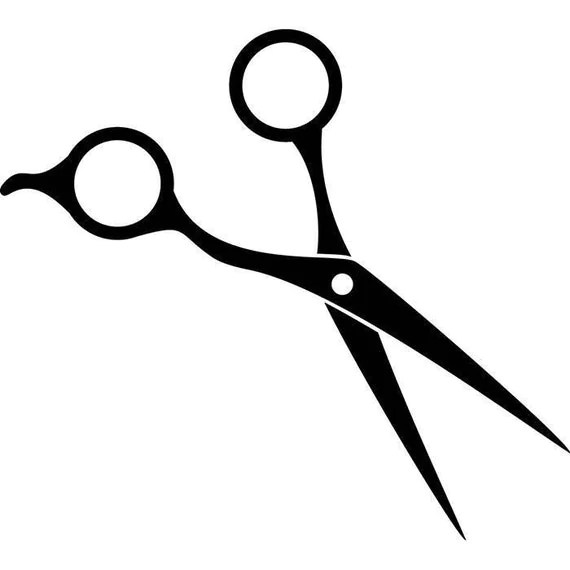 Scissors Hair Accessories Barber Stylish Barbershop