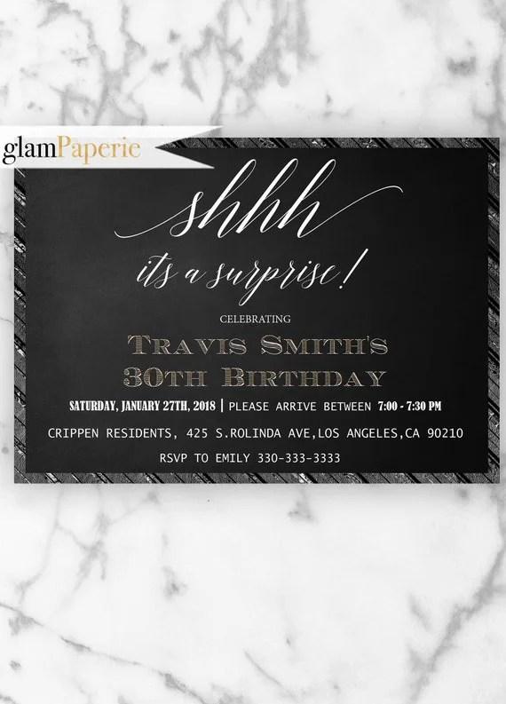 Il 570xn surprise birthday invitation nve media surprise party invitations for him mens 30th birthday filmwisefo