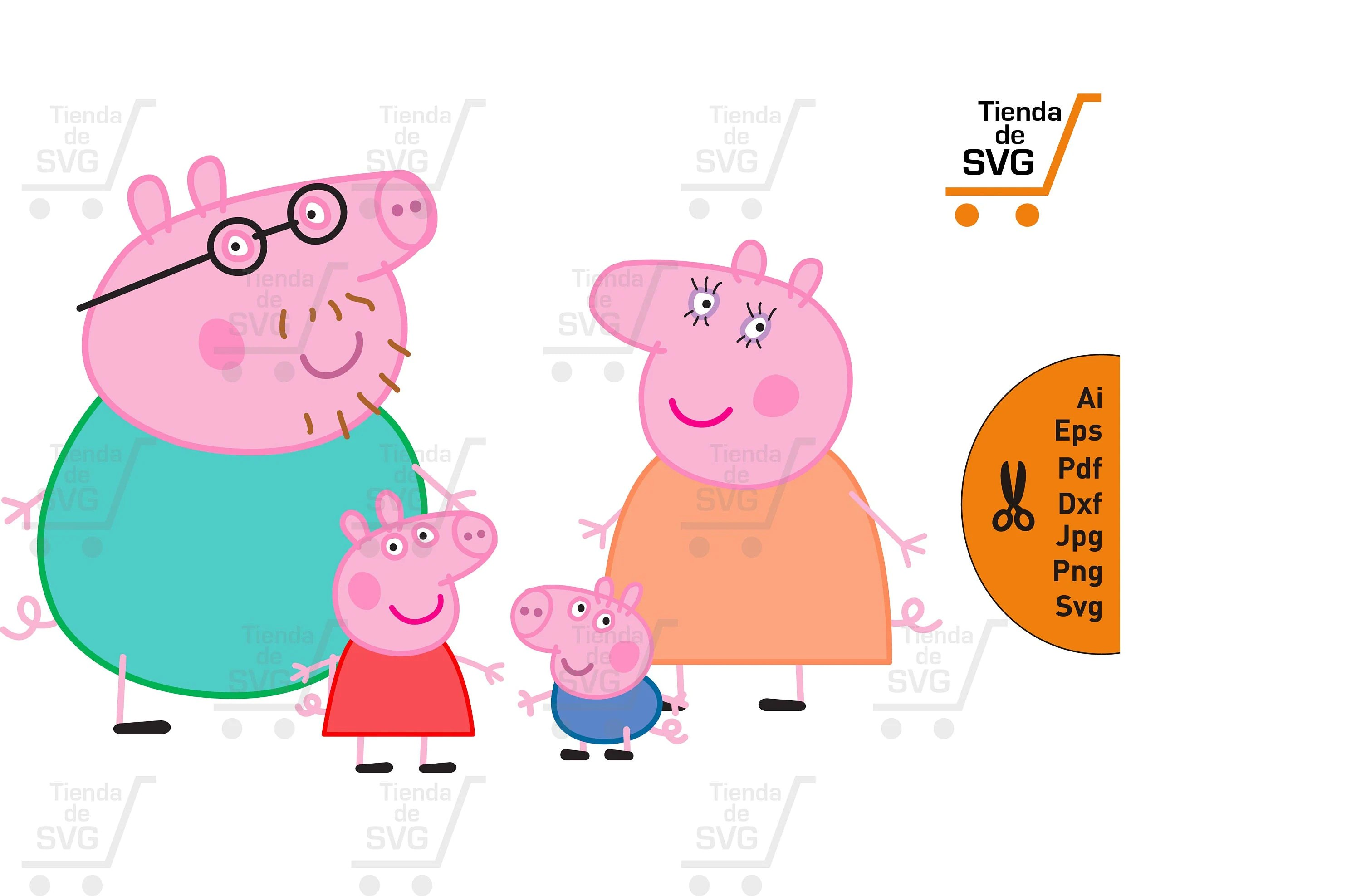 The public investment fund (pif; PEPPA PIG family svg peppa pig svg peppa pig family svg