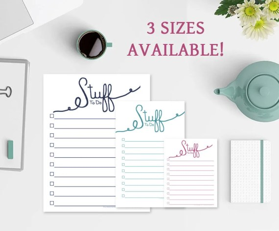 Stuff To Do Notepad