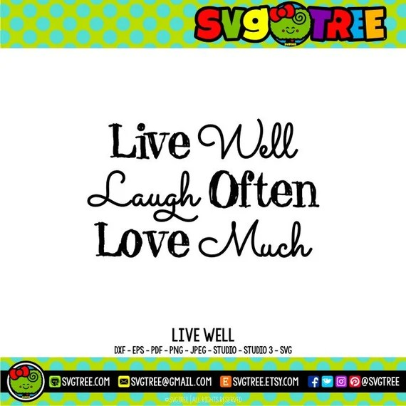 Download Live Laugh Love SVG Sayings SVG Southern SVG Southern Sayings