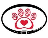 MAGNET - Heart & Swirl Pa...