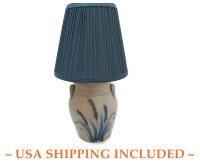 Rockdale Union Stoneware Crock Lamp Handmade in Wisconsin 1991