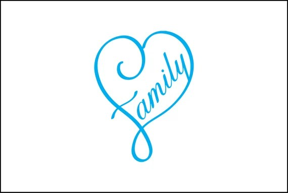 Download Family heart digital download heart infinity svg dxf eps