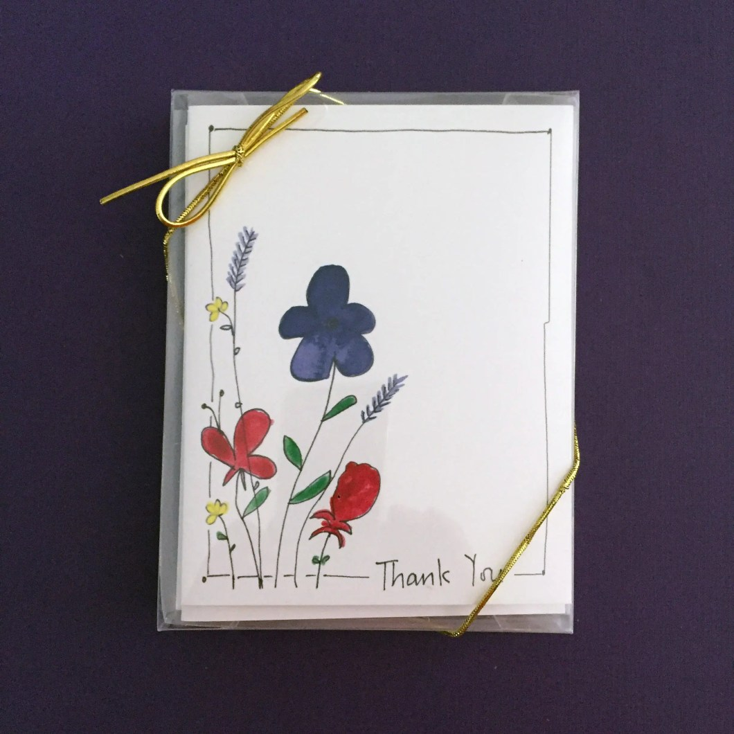 Gift set of 8 watercolor ...